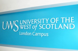 UWS London Campus banner